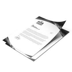 Papel Carta A5 (uma cor)