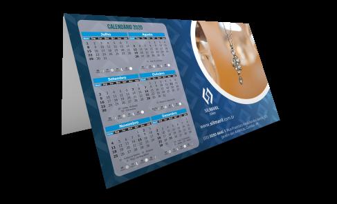 Display de Mesa com Calendário 2020